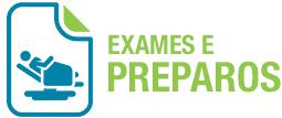 Clique para acessar exames e preparos.